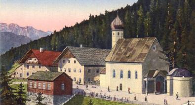 Heiligwasser um 1920 bei Igls