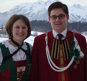 Anna-Maria Offer und Alexander Schwaiger